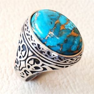 Jewelry - Turquoise 925 Silver Ring